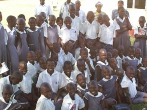 The Children at PCCP Uganda